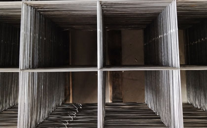 地下室钢筋网片