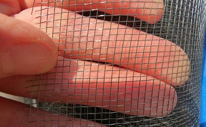 后浇带钢丝网